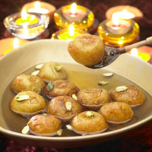 Potato Gulab Jamuns