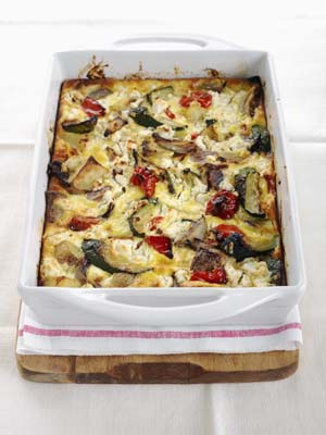 Pan Roasted Potato and Goat Cheese Bake
