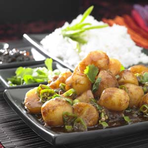 Hakka Chili Potatoes